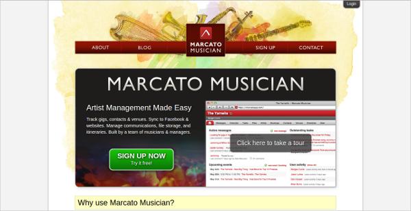 marcato musician