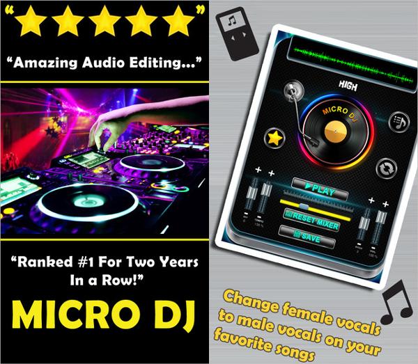 micro dj free