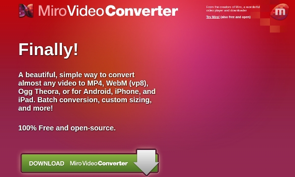 miro video converter compressor software
