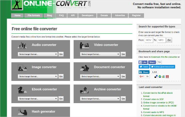 online convert 2