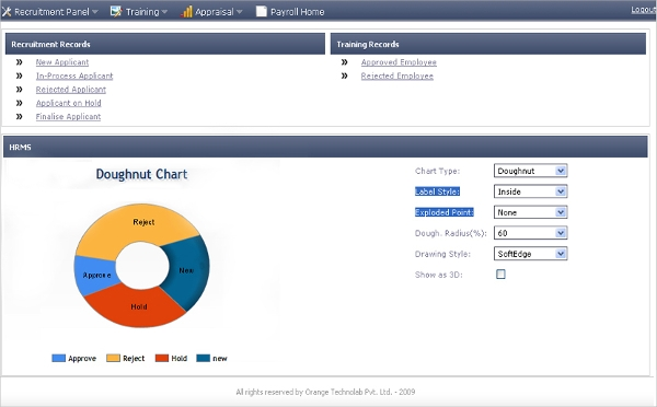 orange payroll and hrms software