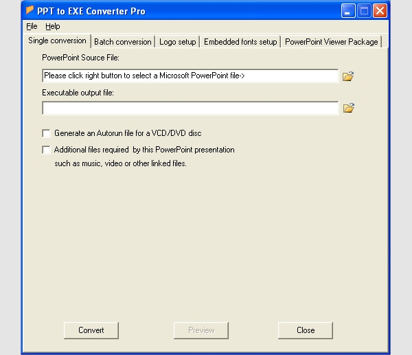 ppt to exe converter pro