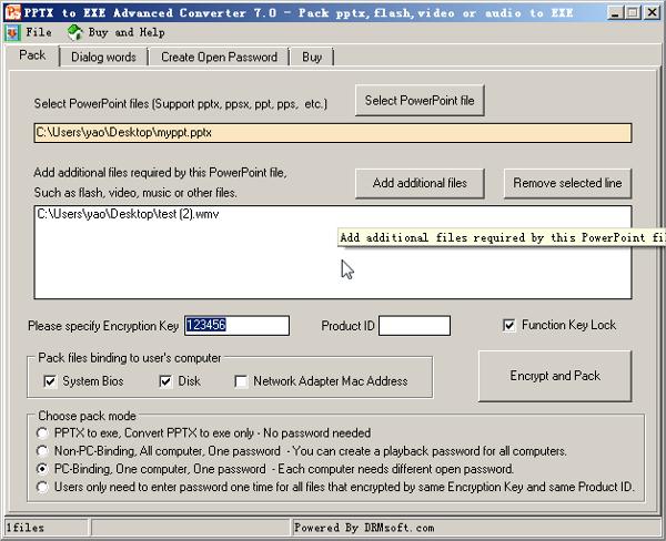 pptx to exe advanced converter