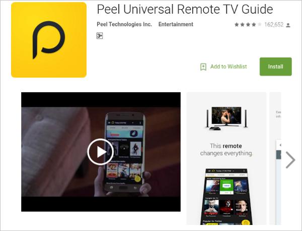 peel smart remote 1