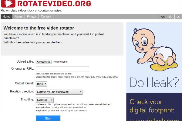 rotate video1