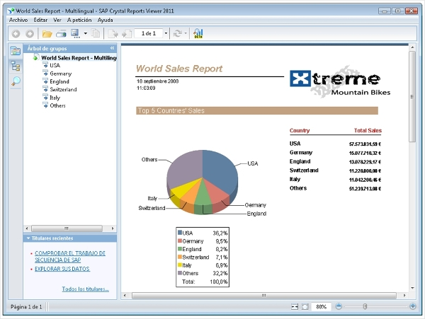 sap crystal reports viewer
