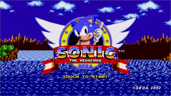sonic the hedgehog sega megadrive
