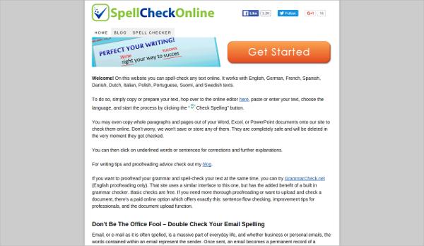 spell check online 1