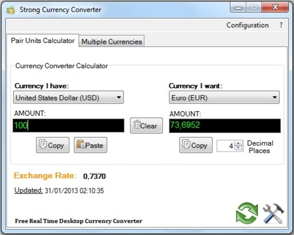 strong currency converter