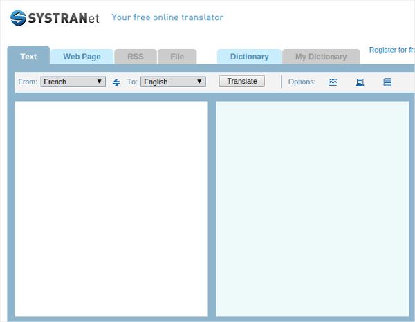 systrans translation software