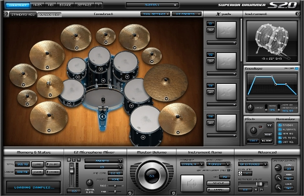 Windows 7 Vista XP Music Software Drums - Percussion (Hitsquad)