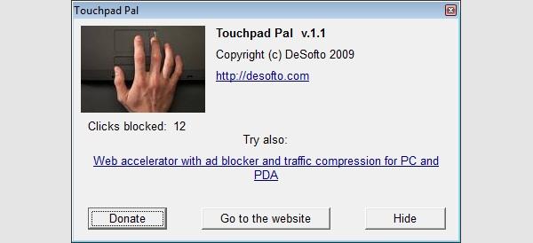 touchpad pal1