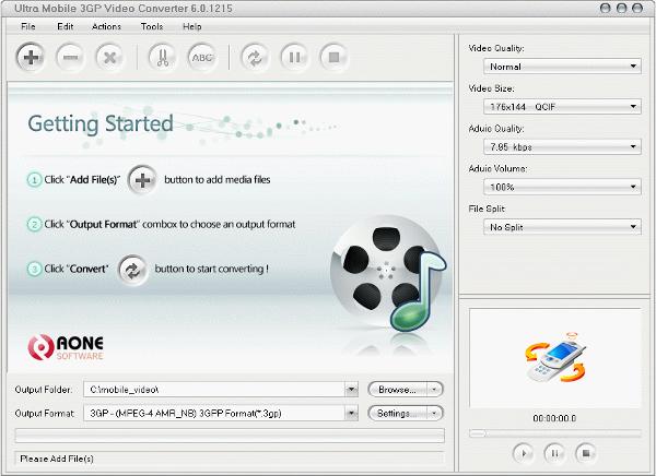 ultra mobile 3gp video converter