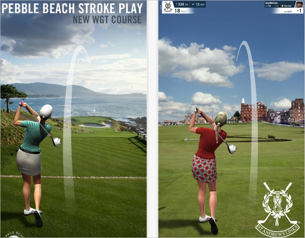 wgt world golf tour mobile game