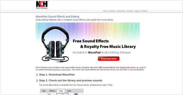 wavepad sound effects