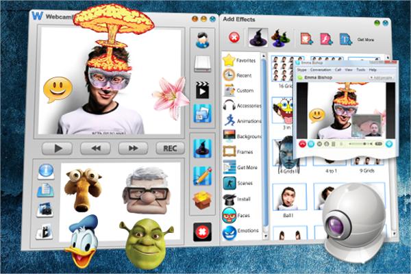 webcam effects software