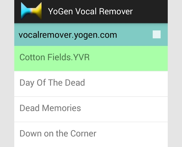 yogen vocal remover android