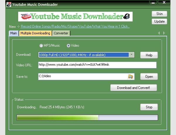 you tube music downloader