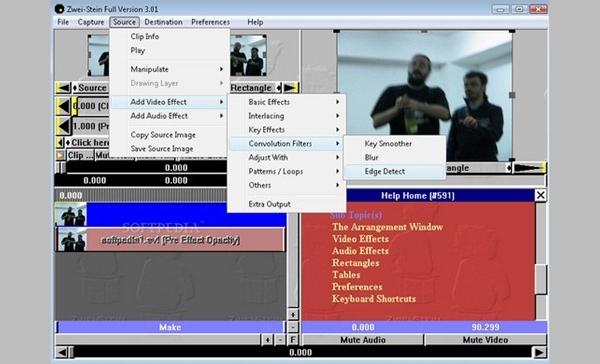 zwei stien video editor