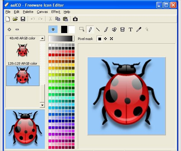 aaico freeware icon editor