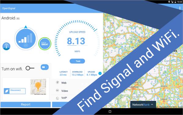 3g 4g wifi maps speed test