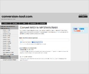 convert midi to mp3 wav m4a