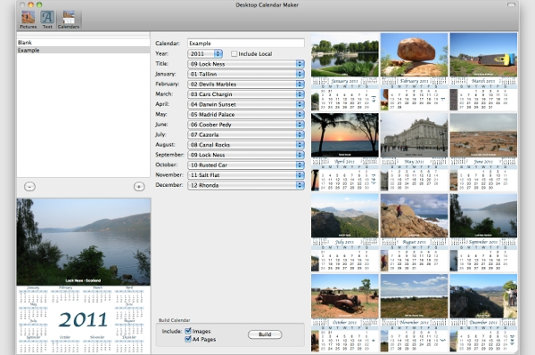 Calendar Design Software : Best calendar creating software free download for