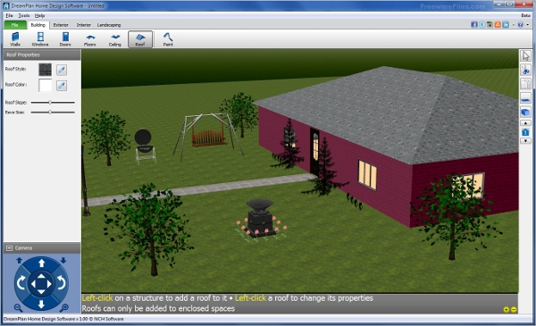dream plan home design software