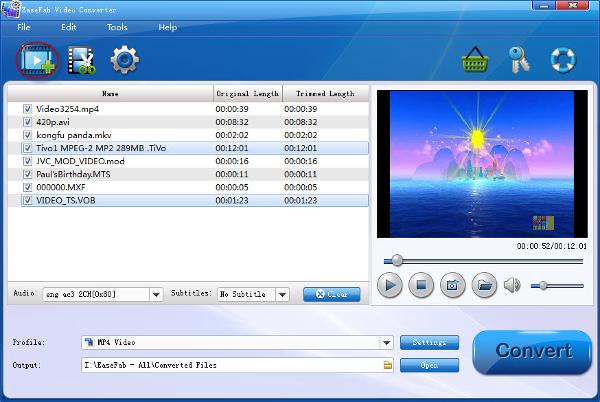 easefab 3d video converter