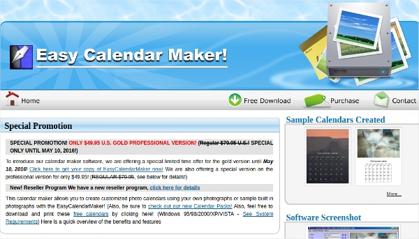Calendar Design Software Download : Best calendar creating software free download for
