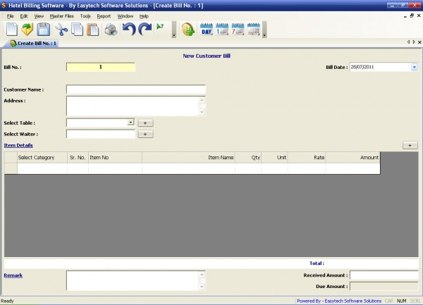 easytech hotel billing software