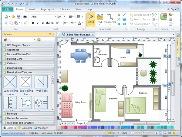 7 best floor plan software free download for windows mac for Free floor design software