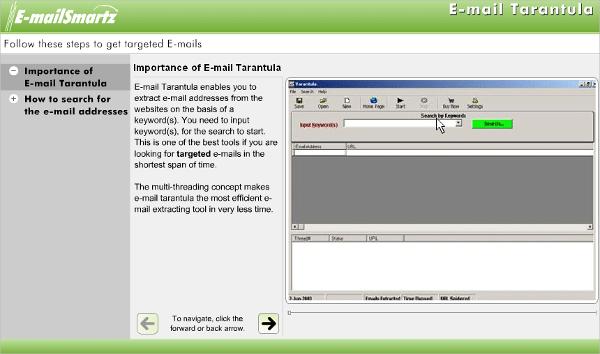 email tarantula