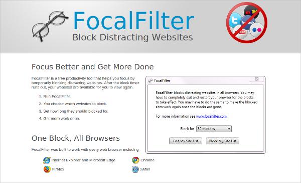 focalfilter