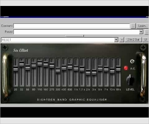 free 18 band graphic equalizer