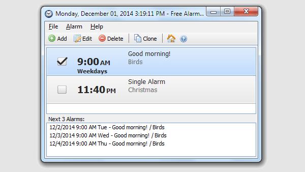 free alarm clock 4