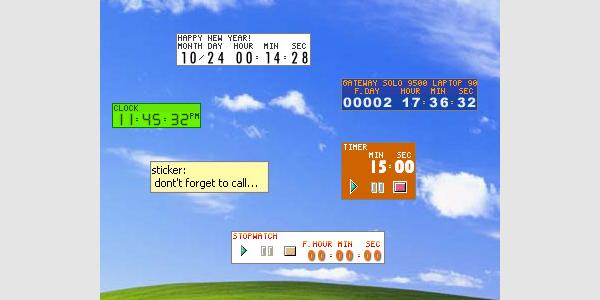 free world clock