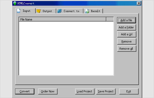 htmlconvert