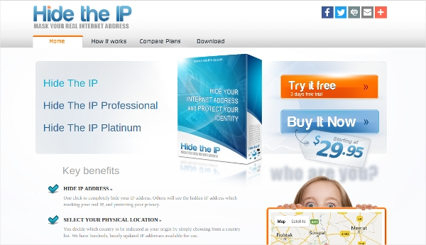 hide the ip