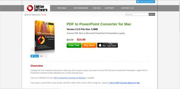 lighten pdf to powerpoint converter