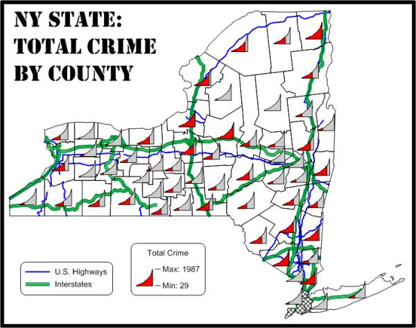 line graph maps