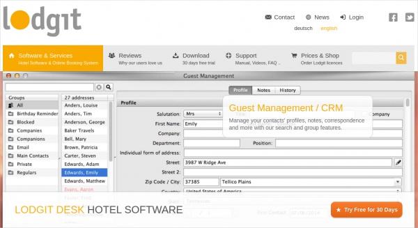 lodgit desk hotel software