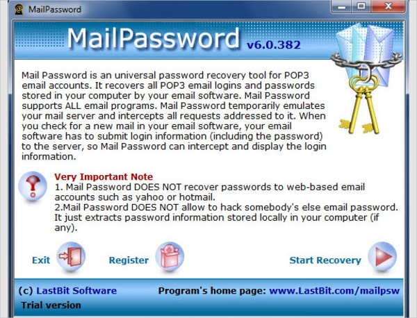 mailpassword