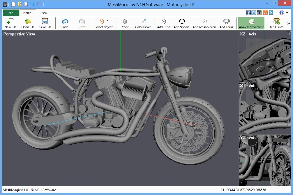 mesh magic 3d modelling