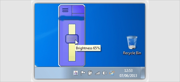 brightness windows 7 software