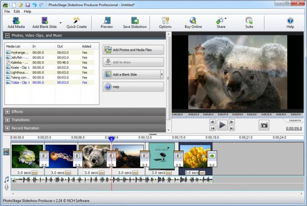 Free Video Slideshow Maker Software for Windows- NCH Software