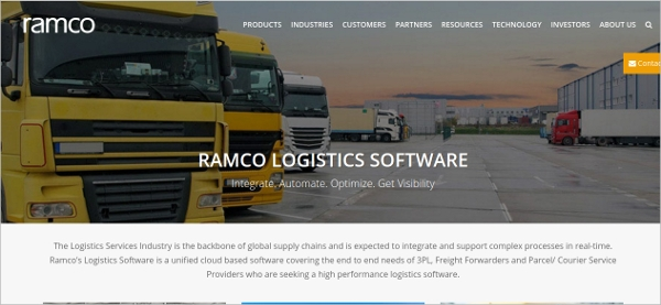 ramco logistics software