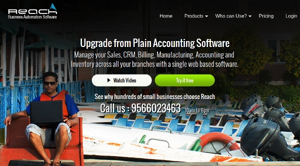 reach accounting software