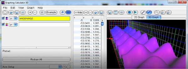 runitior graphing calculator 3d