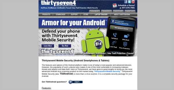 thirtyseven4 mobile security